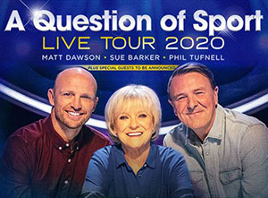 A Question of Sport Live 2020 UK Tour