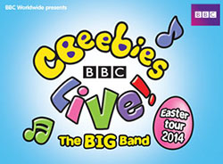 CBeebies Live The Big Band Easter 2014 Tour