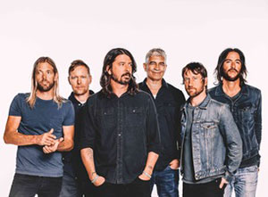 Foo Fighters 2018 UK Tour
