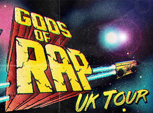 Gods of Rap 2019 UK Tour