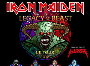 Iron Maiden World Piece Tour Support