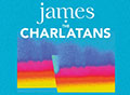 James and Charlatans 2018 UK Tour