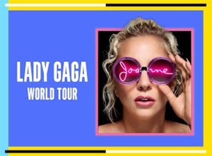 Lady Gaga 2017 UK Tour