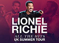 Lionel Richie 2018 UK Tour