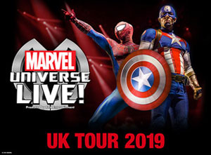 Marvel Universe Live 2019 UK Tour