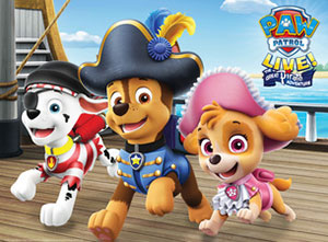 PAW Patrol 2018 UK Tour