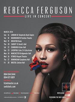 Rebecca Ferguson Announces 2014 UK Tour Dates