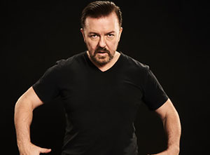 Ricky Gervais Humanity 2017 UK Tour