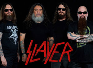 Slayer 2018 UK Tour