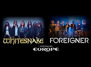 Whitesnake and Foreigner 2020 UK Tour