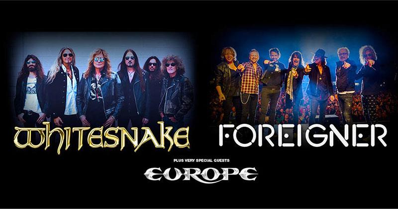 Whitesnake + Foreigner 2020 UK Tour